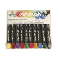 10 Air Brush marqueurs