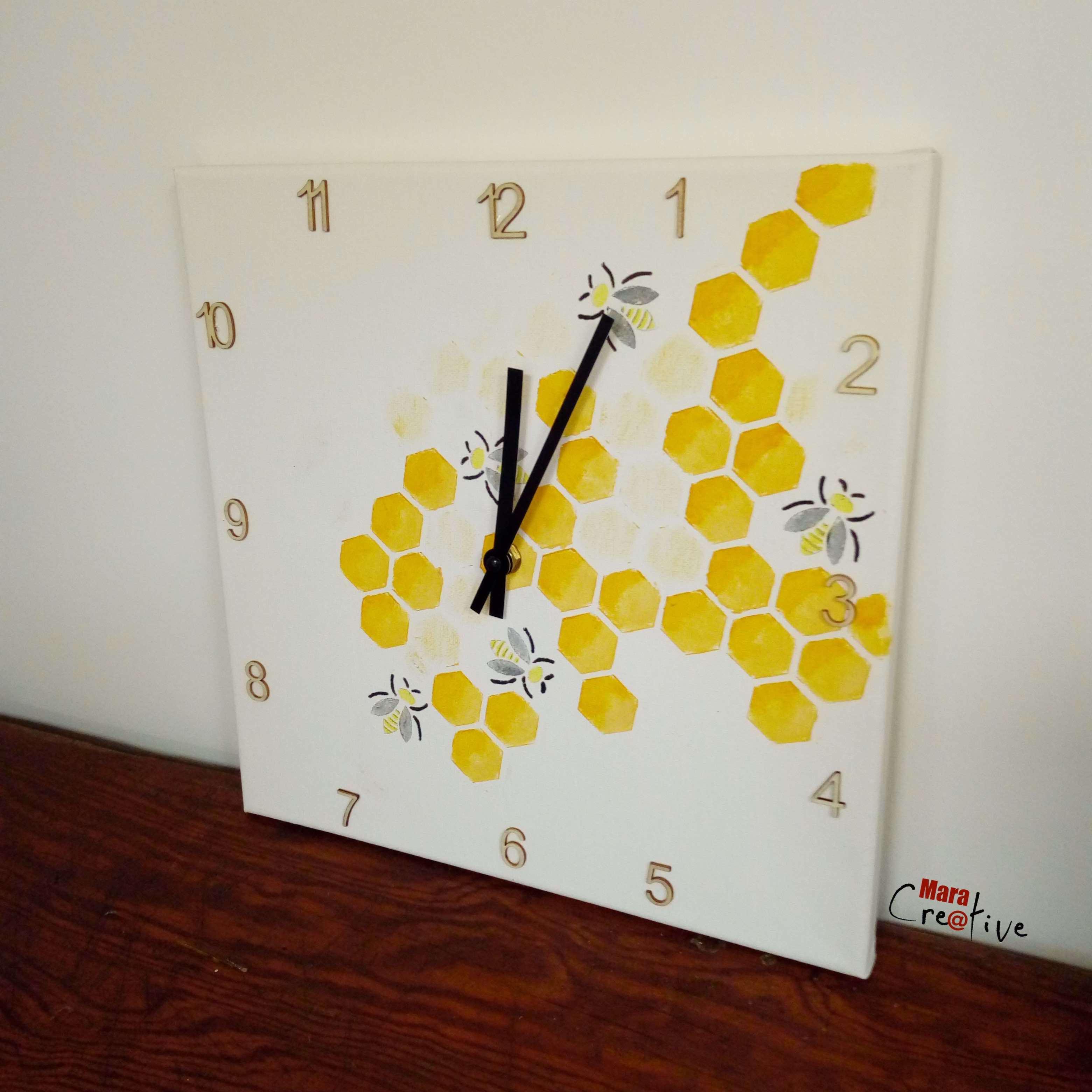 horloge abeille